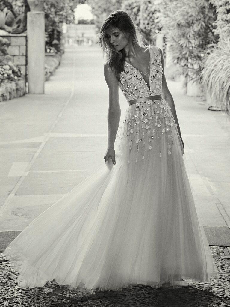 Jenny Packham A-line wedding dress