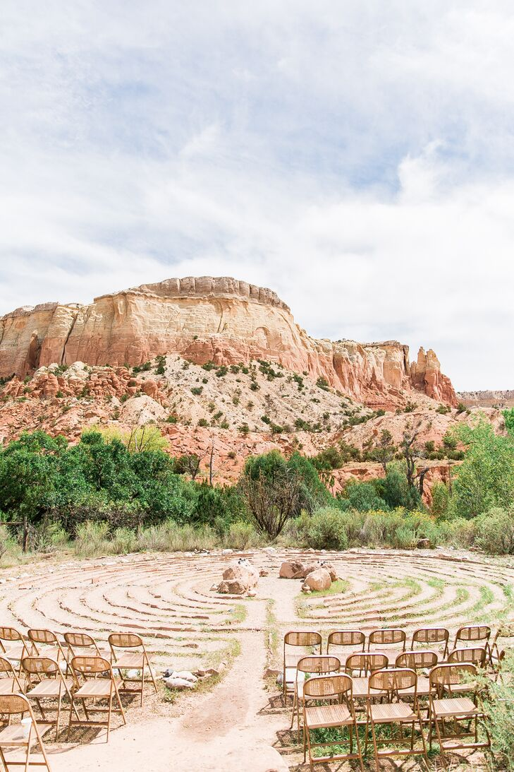 Desert Stone Labyrinth Ceremony