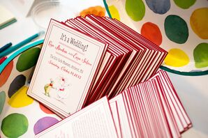 Playful Illustrated Ceremony Programs