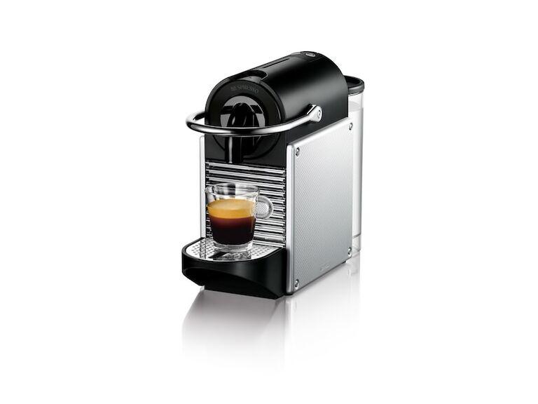 Nespresso pixie coffee maker, $229, Nespresso.com