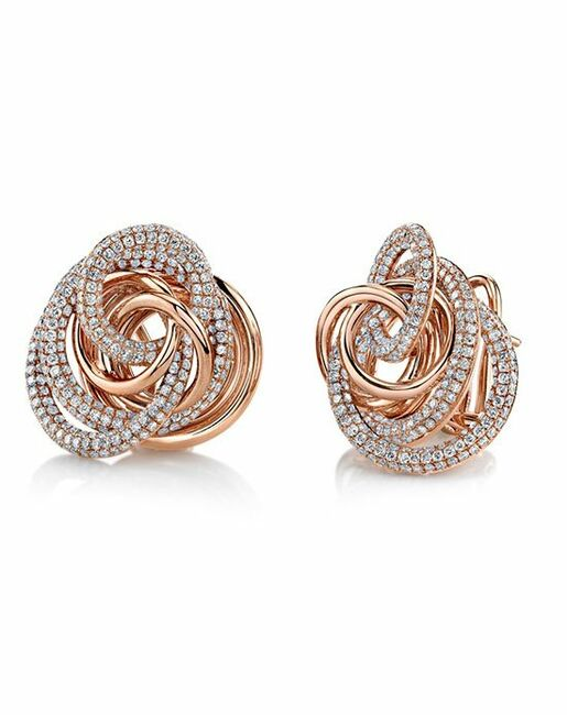 Parade Designs E3246A from the Lumiere Collection Wedding Earrings photo