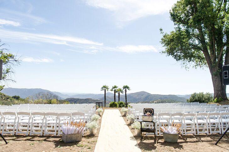 Condor's Nest Ranch Outdoor Ceremony