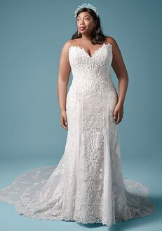 Maggie Sottero ERIN LYNETTE MARIE Sheath Wedding Dress