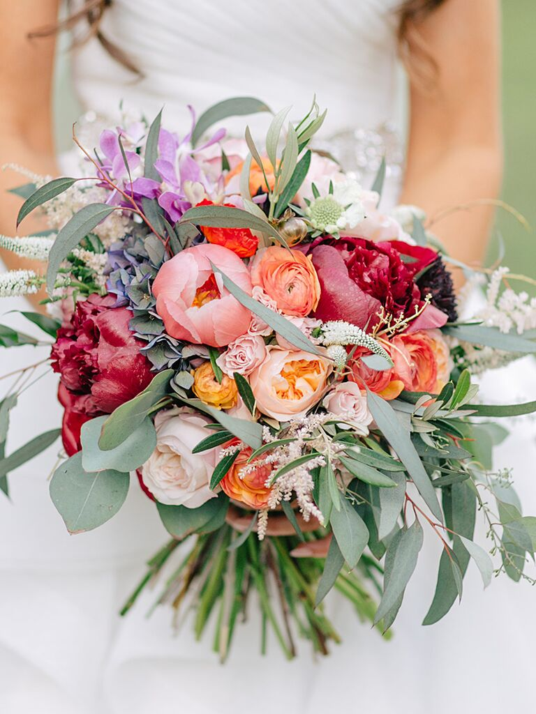 15 Beautiful Peony Wedding Bouquets The Knot