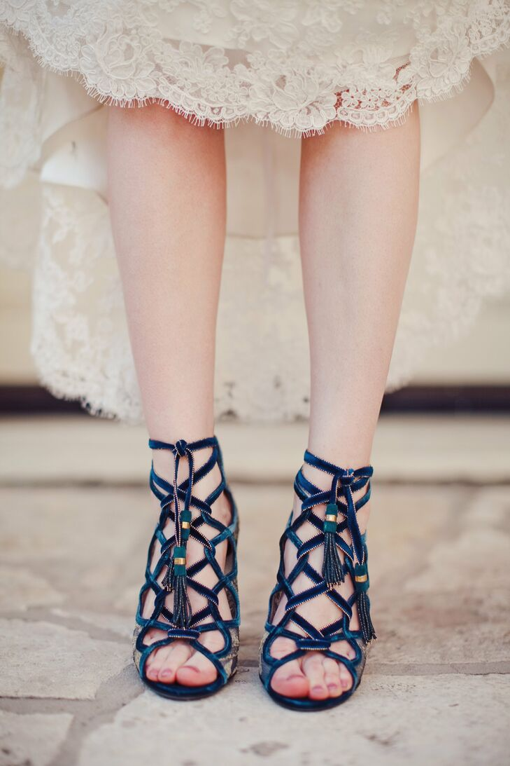 Criss-Cross Strappy Heels