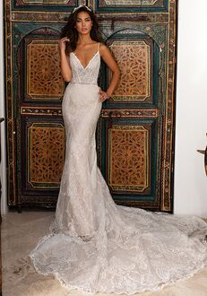 Moonlight Couture H1401 Mermaid Wedding Dress