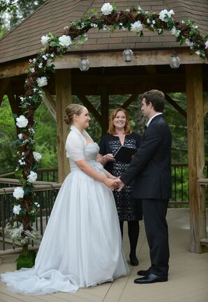 Leigh and Kyle's Mountainside Wedding Ceremony