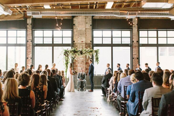 Industrial Loft Ceremony