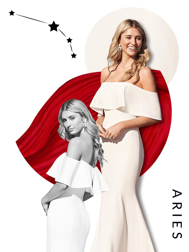 Aries wedding dress