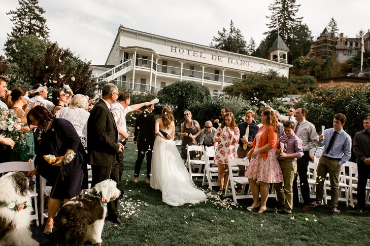 Roche Harbor Resort Garden Ceremony