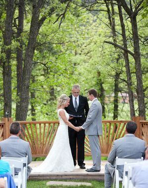 Dan and Briana Exchanging Vows