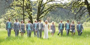 Dan and Briana's Wedding Party