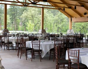 Covered Wedding Reception Custer State Park