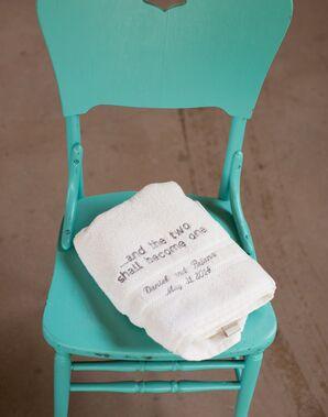 Turquoise Ceremony Chair