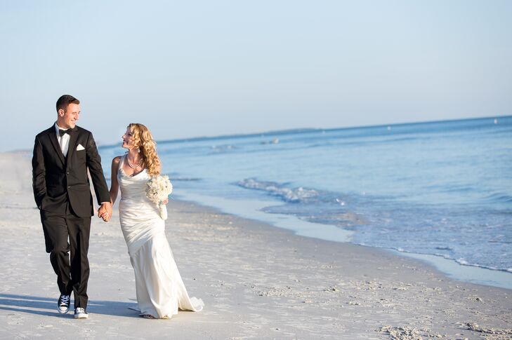 5e655e064f5d Josh s classic black tuxedo was met with a whimsical accent on his wedding  day. Matching