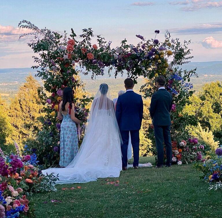 katie couric daughter wedding