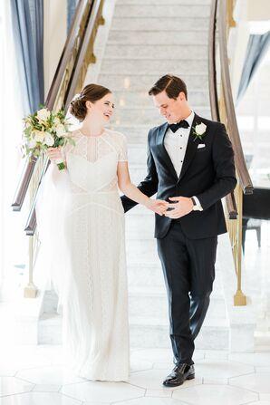 Classic-Meets-Contemporary Wedding