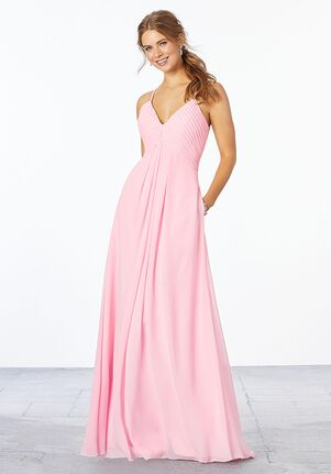 Morilee by Madeline Gardner Bridesmaids 21658 - Morilee by Madeline Gardner Bridesmaids V-Neck Bridesmaid Dress