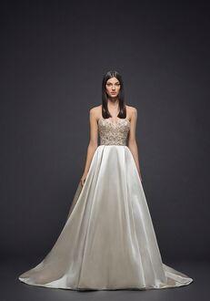 Lazaro 3815 Ball Gown Wedding Dress