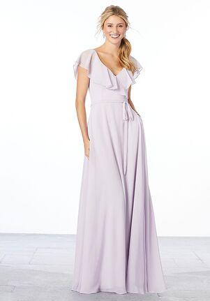 Morilee by Madeline Gardner Bridesmaids 21657 - Morilee by Madeline Gardner Bridesmaids V-Neck Bridesmaid Dress