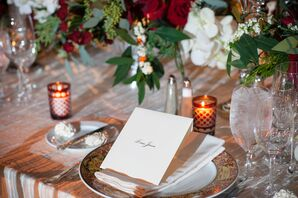 Formal Calligraphed Place Cards