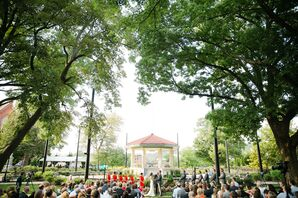 Cincinnati Park Wedding Ceremony