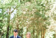 A family home on Virginia's Eastern Shore that holds many childhood memories for the bride was the perfect place for family and friends to gather for