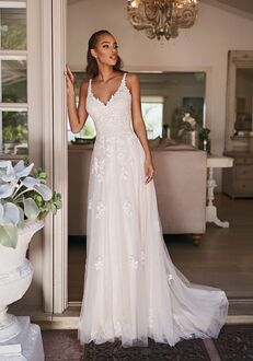 Simply Val Stefani DELMAR A-Line Wedding Dress
