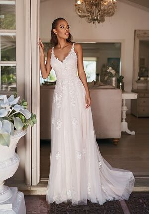 Simply Val Stefani DELMAR A-Line Wedding Dress