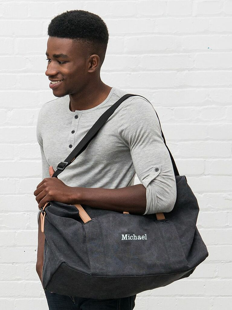 personalized overnight bag