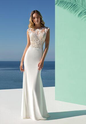 Destination Romance DR233 Sheath Wedding Dress