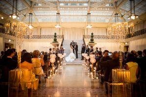 The Rookery Elegant Wedding Ceremony