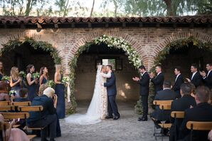 Wedding Ceremony at Hummingbird Nest Ranch