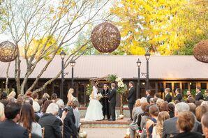 Samantha and Brandon's Outdoor Biltmore Estate Wedding Ceremony