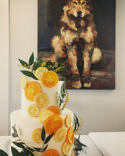 Wedding Cakes by Mezzanine Catering