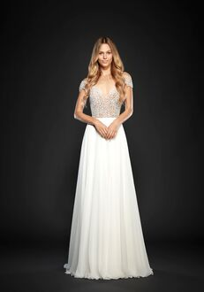 Hayley Paige Celine-6710 A-Line Wedding Dress