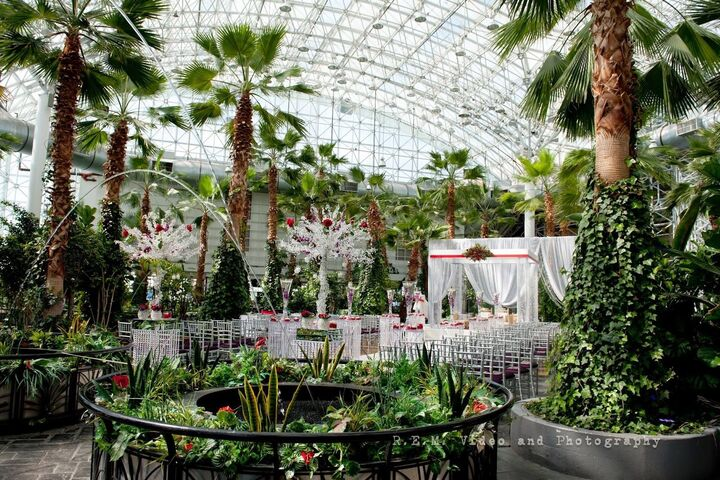 The Crystal Gardens At Navy Pier Reception Venues