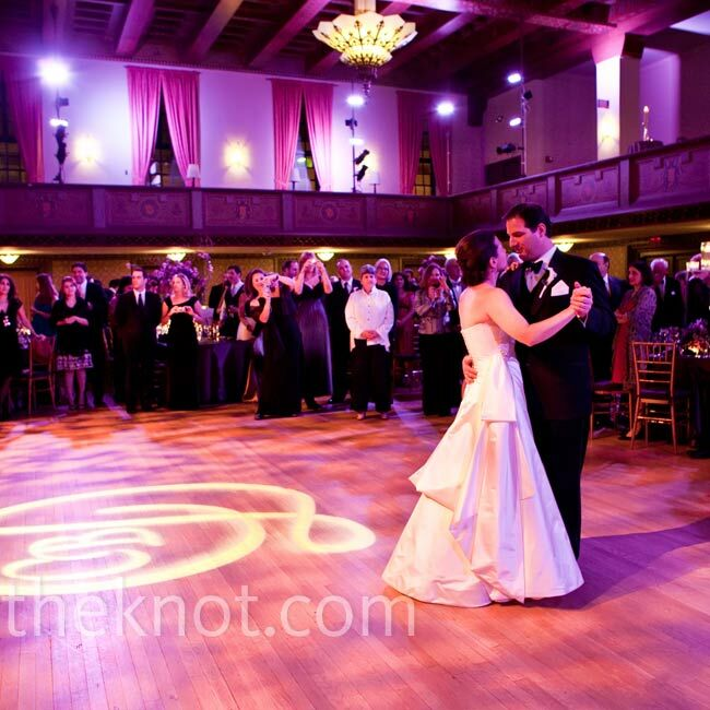 """A huge jazz fan, Cindy had the band play """"The More I See You"""" by Harry Warren and Mack Gordon for the couple's first dance."""