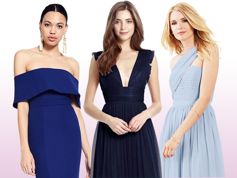 15 Blue Bridesmaid Dresses for Every
