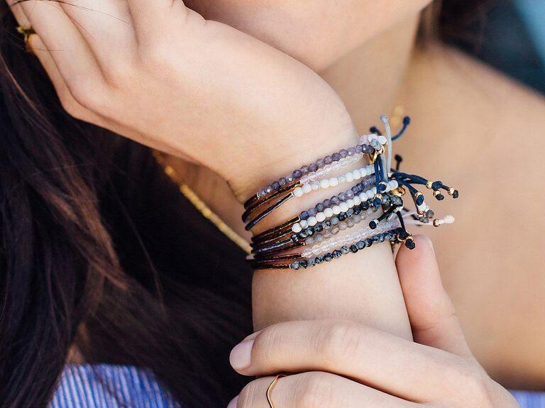 Gorjana power gemstone Howlite bracelet for calming