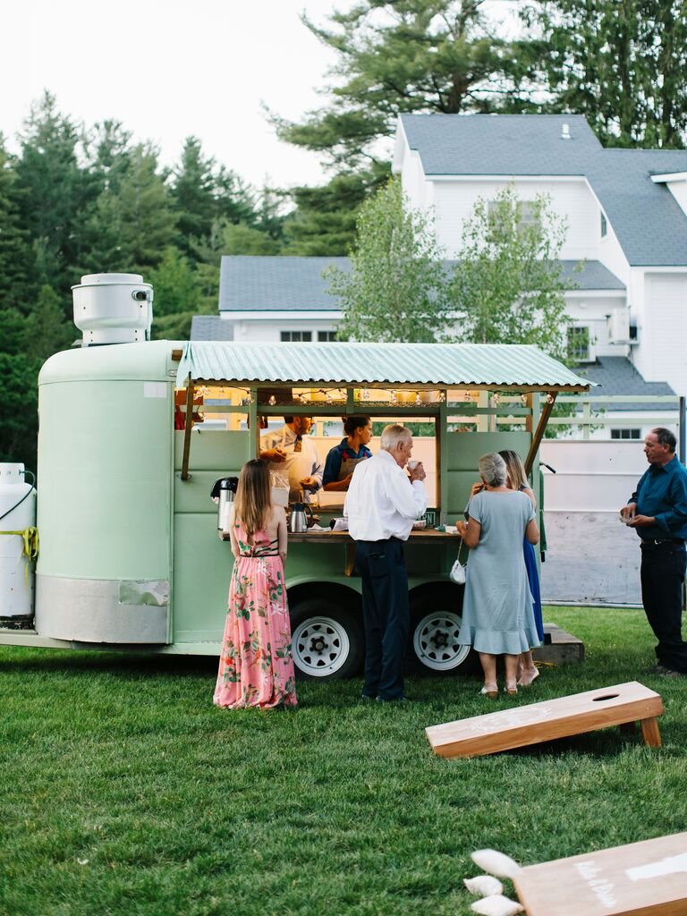 Backyard Wedding Ideas Food Truck