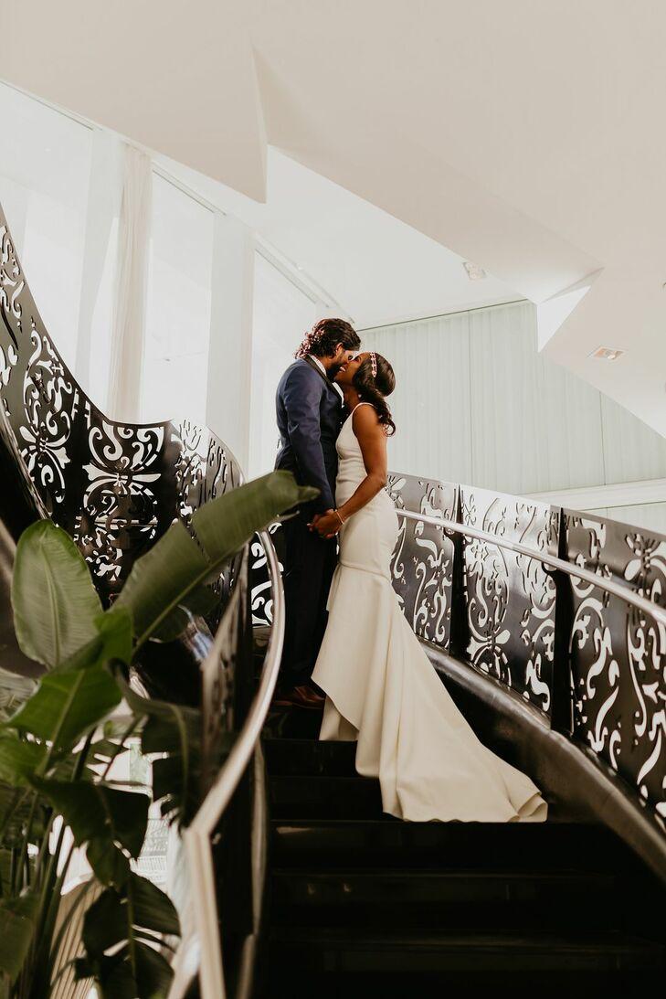 Wedding Photos at the Miami Beach Botanical Gardens in Miami Beach, Florida