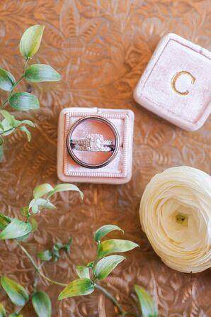 Square-Cut Vintage Engagement Ring