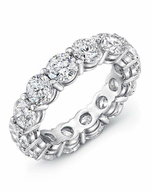 Uneek Fine Jewelry ETRB300 Platinum Wedding Ring