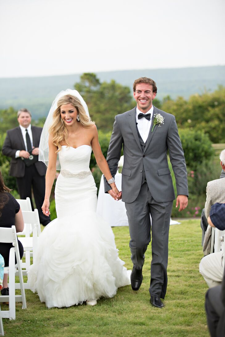 Sydney and Ryan Recessional