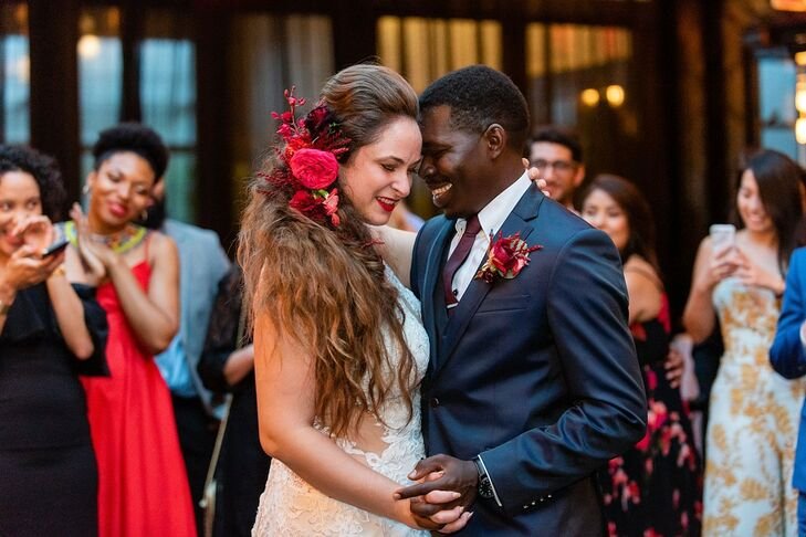 Couple's First Dance at 501 Union in Brooklyn, New York