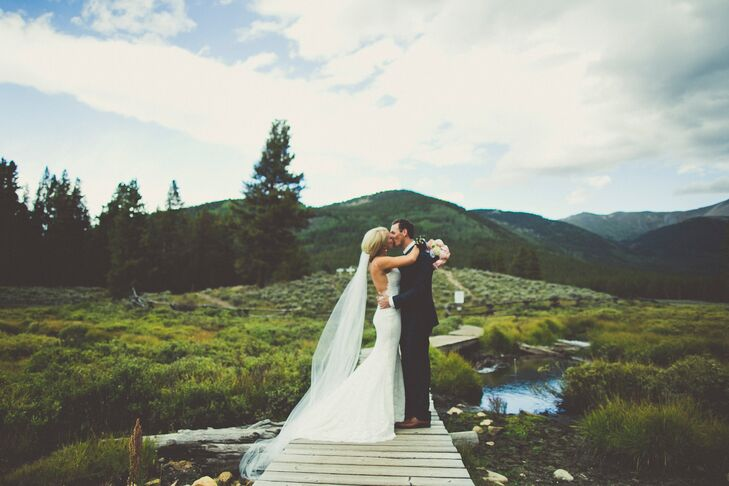 Mountain Wedding | A Rustic Mountain Wedding At A Private Residence In Tincup Colorado