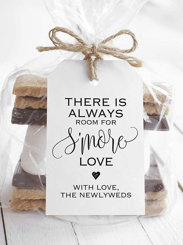 s'mores wedding favors kit