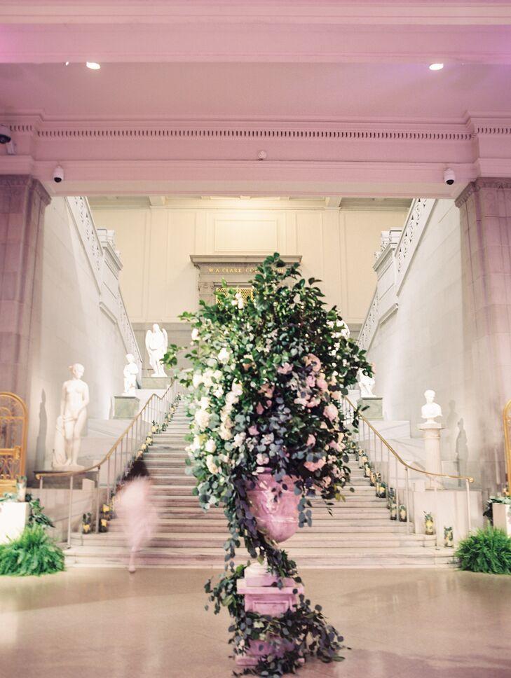 Green Flower Arrangement at Corcoran Gallery of Art