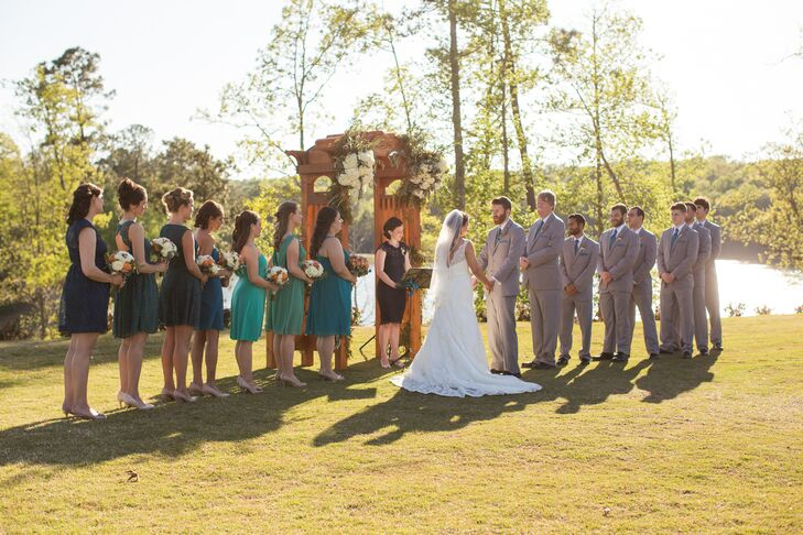 Colleen and Sean's Foxhall Resort and Sporting Club Ceremony
